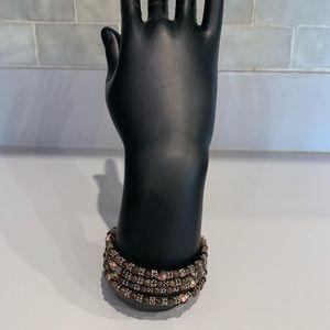 Accessories - Brown Beaded Bracelet